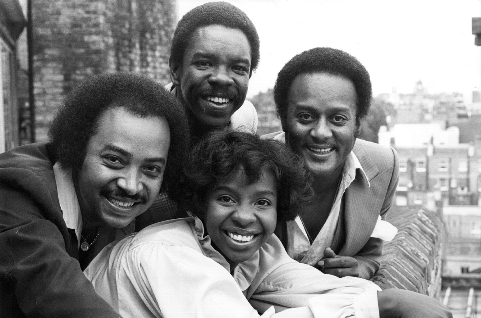 Gladys Knight and the Pips photographed on Aug. 31, 1978.