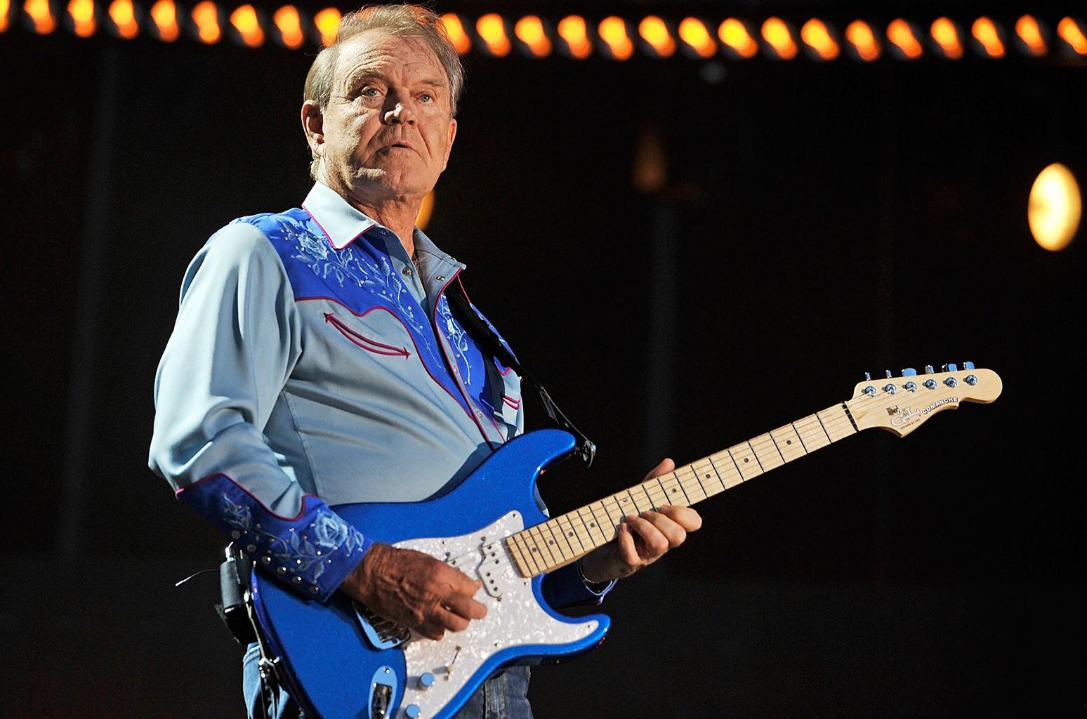 Glen Campbell performs during the 2012 CMA Music Festival on June 7, 2012 in Nashville, Tenn