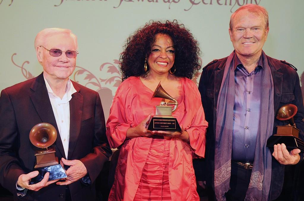 George Jones, Glen Campbell & Diana Ross, 2012