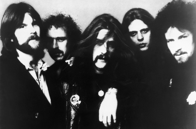The Eagles photographed in Germany in the 1970s.