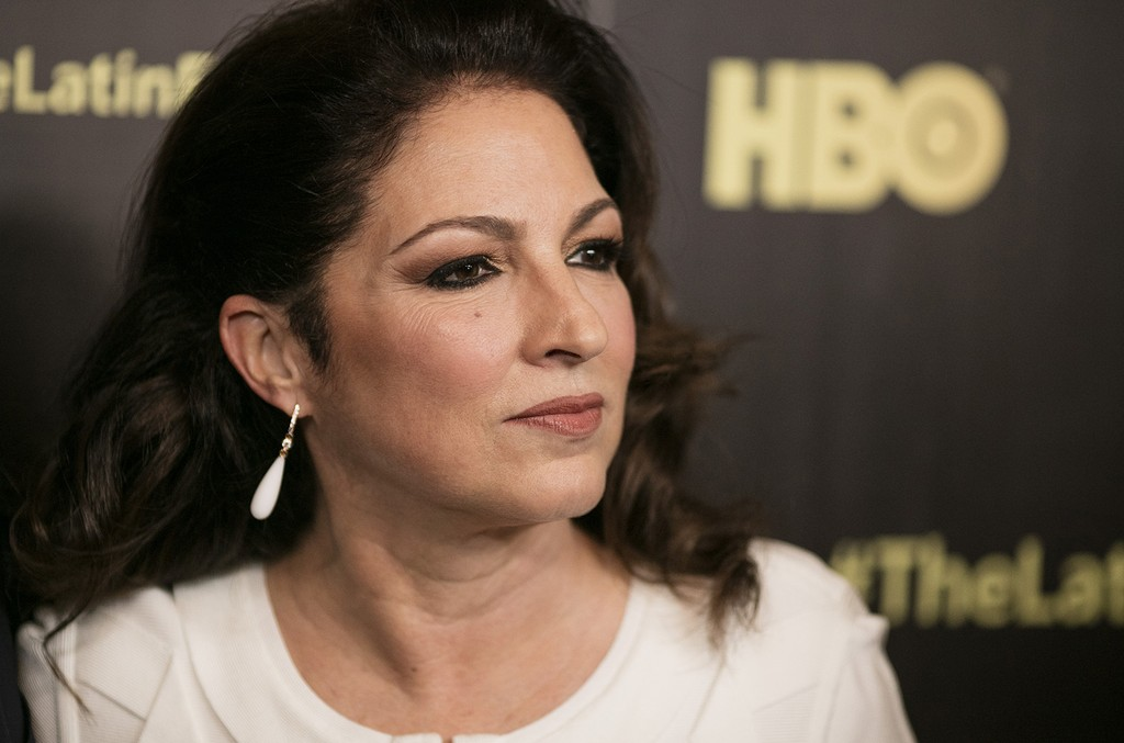 """Gloria Estefan attends the premiere of the HBO documentary, """"The Latin Explosion: A New America"""", at the Hudson Theatre on Nov. 10, 2015, in New York."""