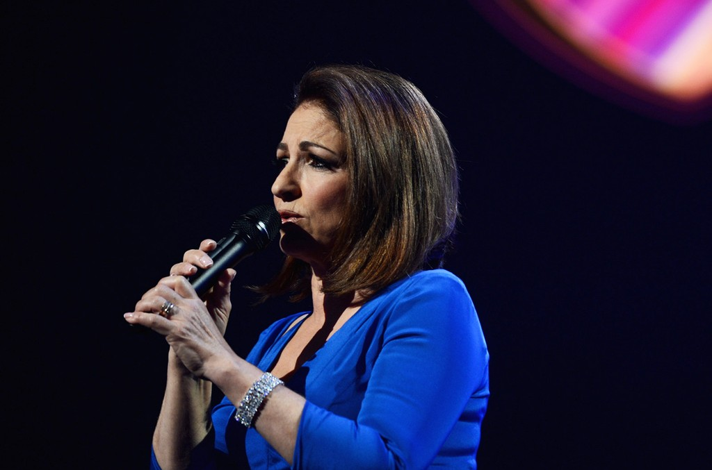 "Gloria Estefan performs onstage during the 18th annual Keep Memory Alive ""Power of Love Gala"" benefit for the Cleveland Clinic Lou Ruvo Center for Brain Health honoring Gloria Estefan and Emilio Estefan Jr. on April 26, 2014 at the MGM Grand Garden Arena"