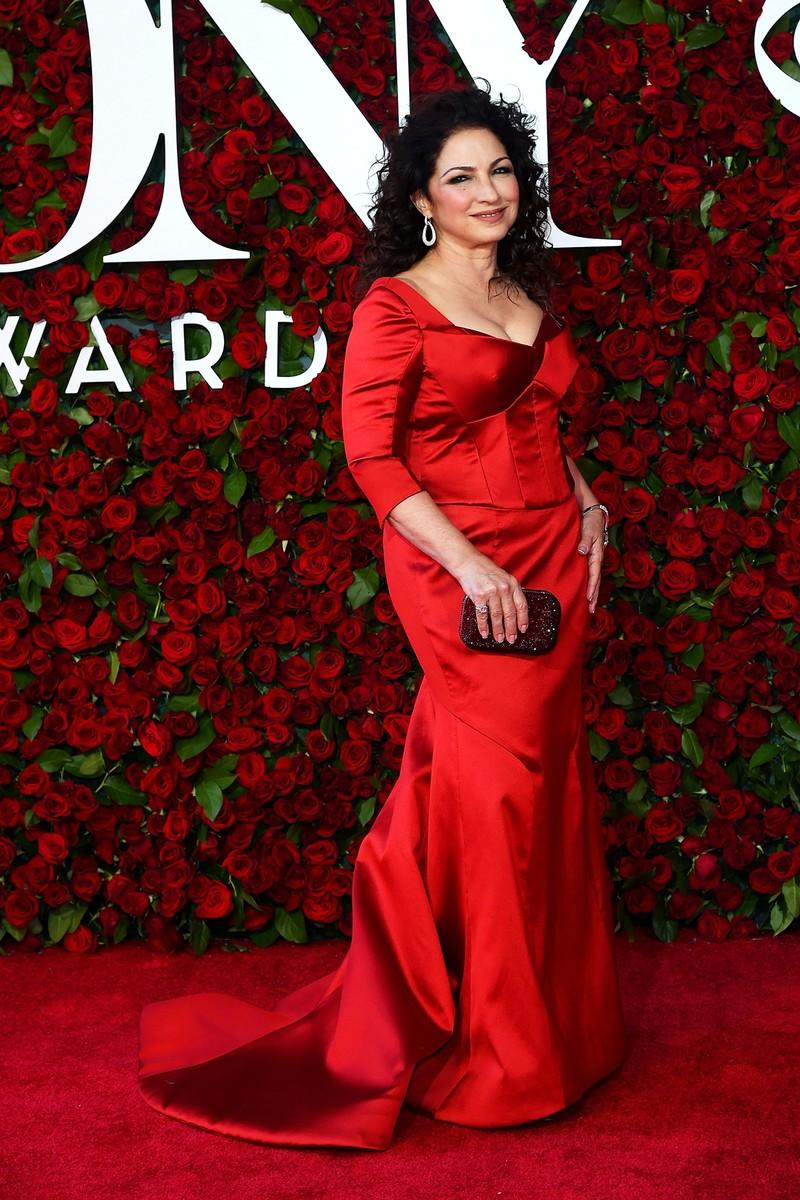 Gloria Estefan at the Tony Awards