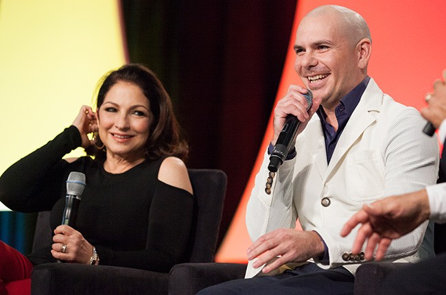 Gloria Estefan and Pitbull