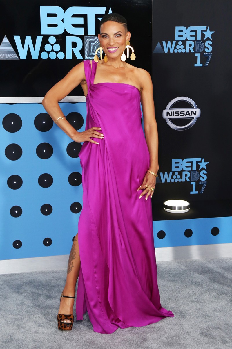 Goapele at the 2017 BET Awards at Microsoft Square on June 25, 2017 in Los Angeles.