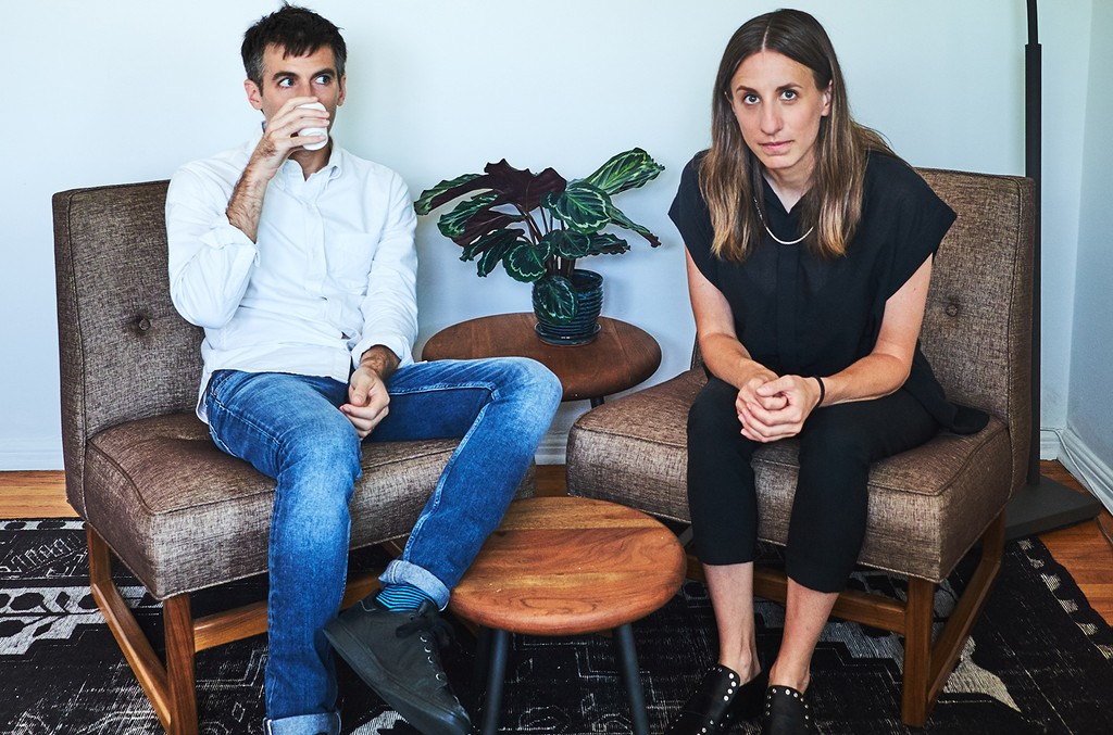 Godmode co-founders Nick Sylvester and Talya Elitzer