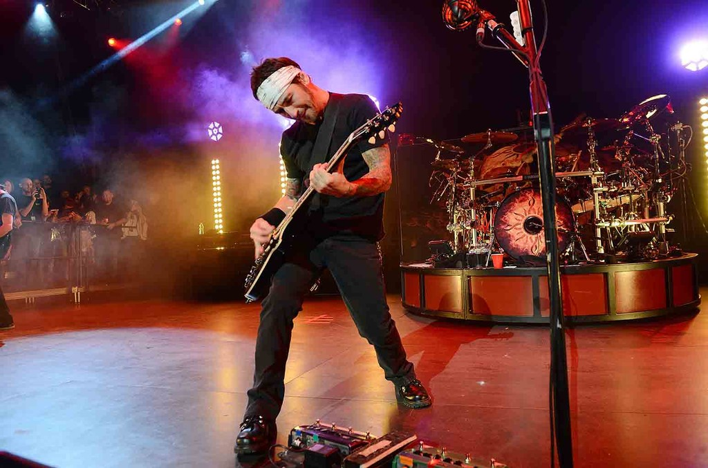 Godsmack performs live at the Pearl at the Palms Casino Resort on Nov. 14, 2015 in Las Vegas.