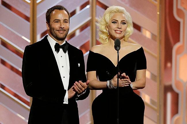 Tom Ford and Lady Gaga