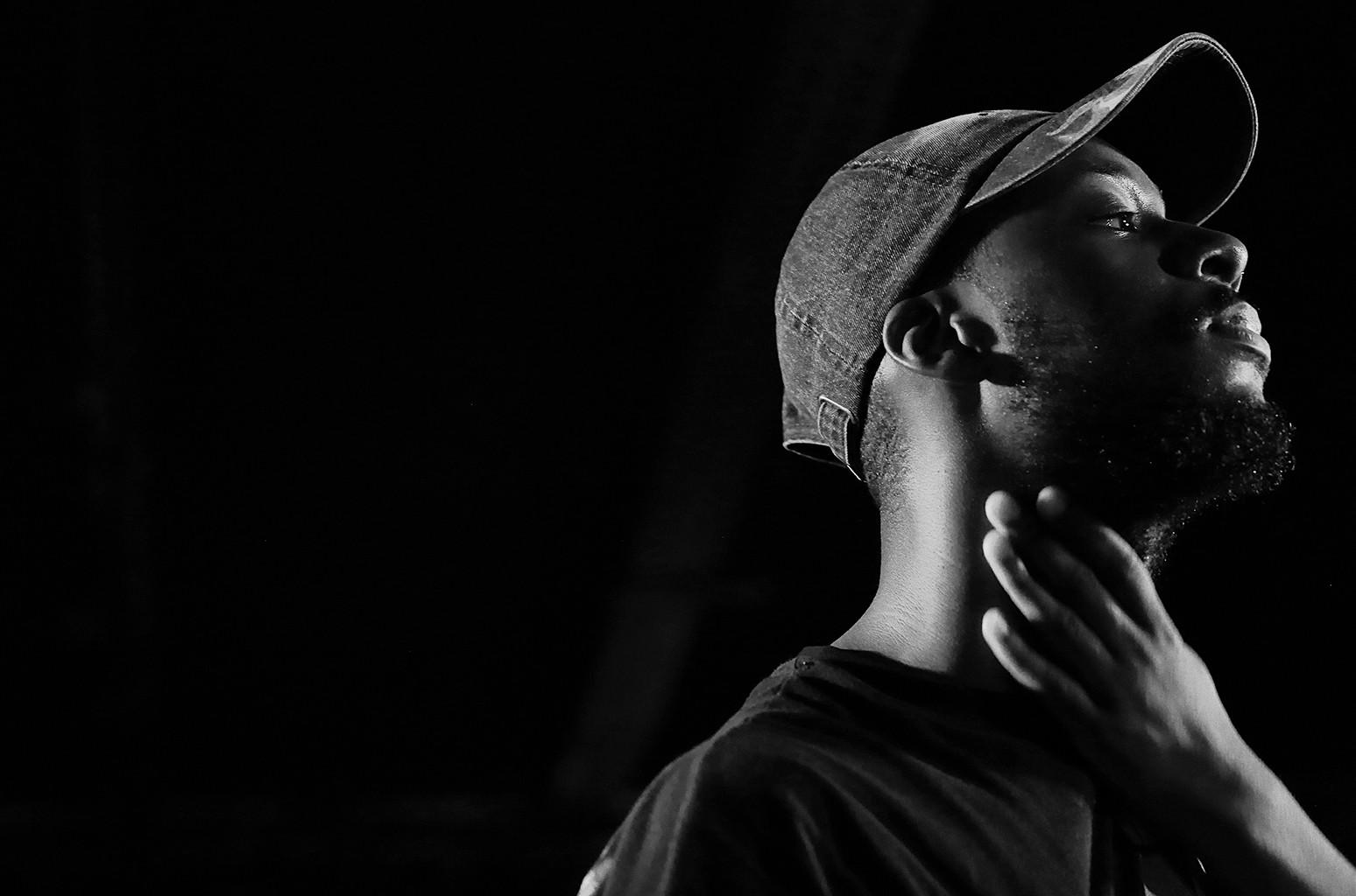 Goldlink performs at la Bellevilloise on Sept. 25, 2016 in Paris.
