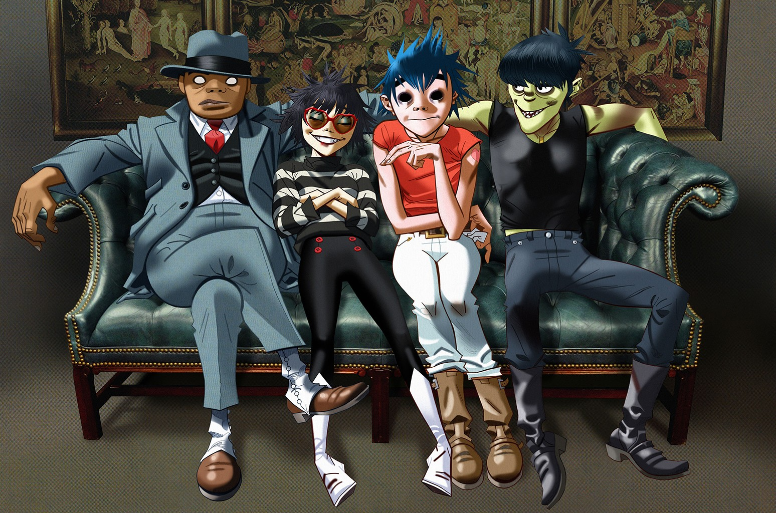 Old Roblox Awesome Song The 15 Best Gorillaz Songs Billboard