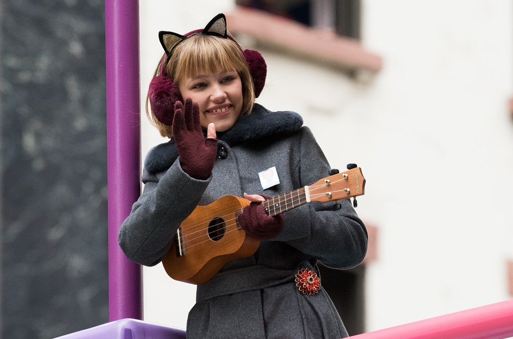 Grace VanderWaal attends the 90th Annual Macy's Thanksgiving Day Parade on Nov. 24, 2016 in New York City.
