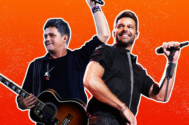 The Lowdown on Ricky Martin, Alejandro Sanz  and More Latin Acts Up for Grammy Honors