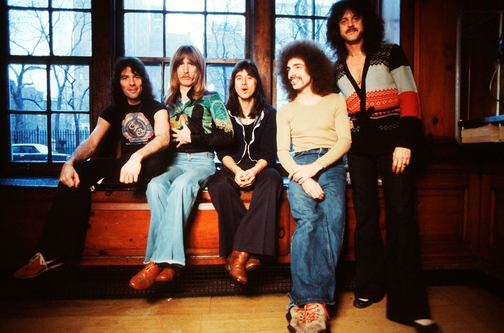 Journey photographed in 1978.
