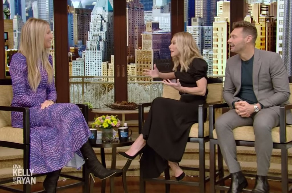 Gwyneth Paltrow on Live with Kelly and Ryan.