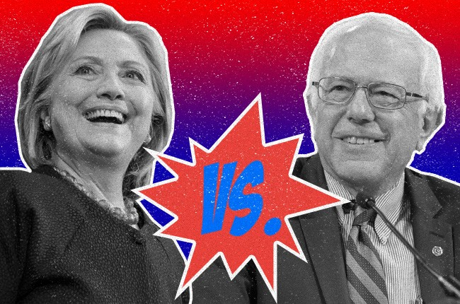 Hilary Clinton; Bernie Sanders