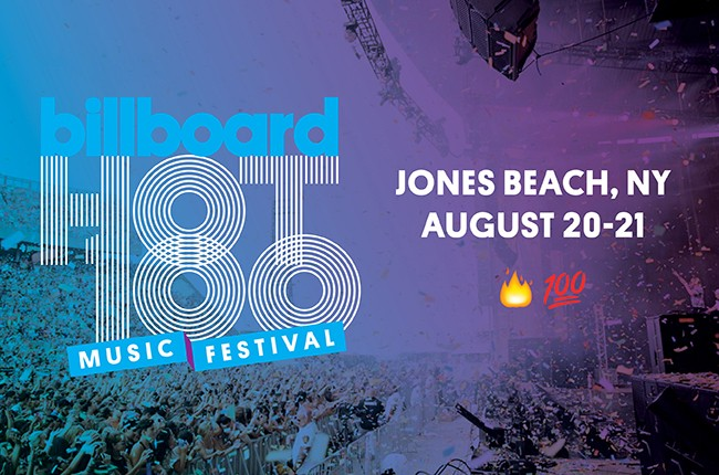 2016 Billboard Hot 100 Music Festival, Aug. 20-21