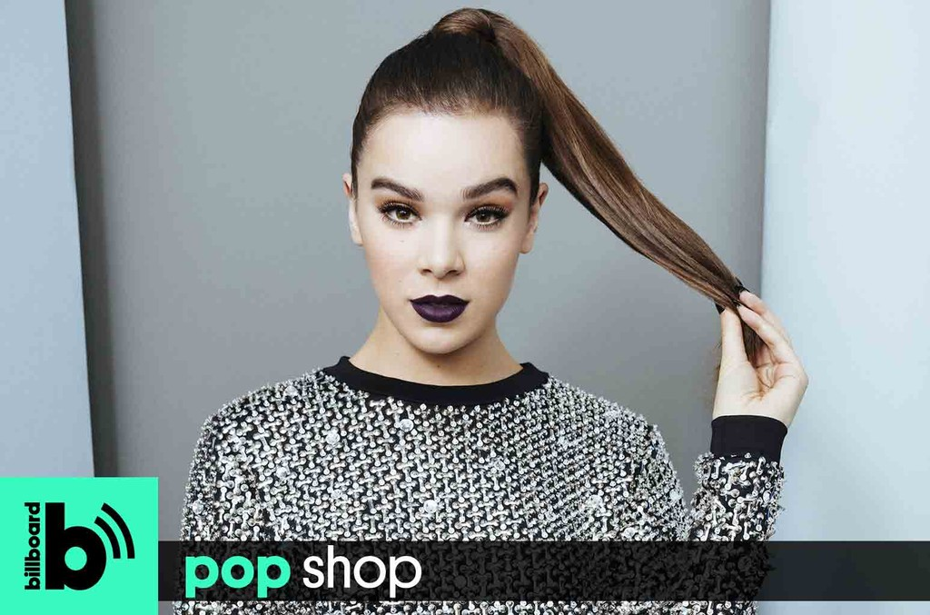 Hailee Steinfeld photographed on Sept. 23, 2016 at iHeartRadio Music Festival in Las Vegas.