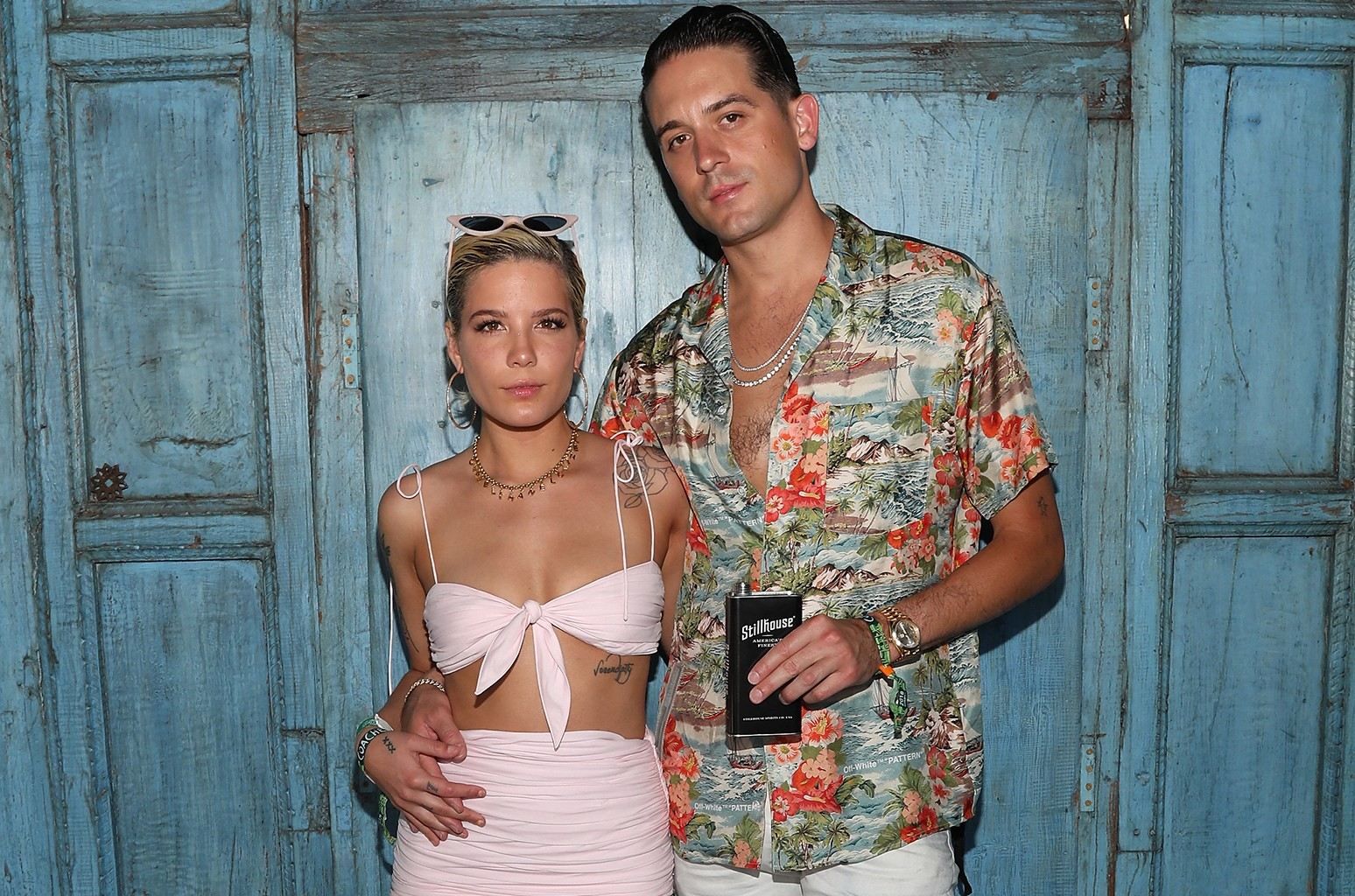 Halsey and G-Eazy