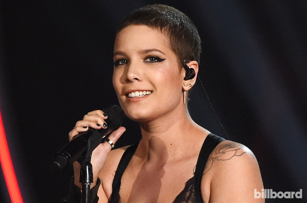 Halsey performs at the Billboard Women in Music 2016 event on Dec. 9, 2016 in New York City.