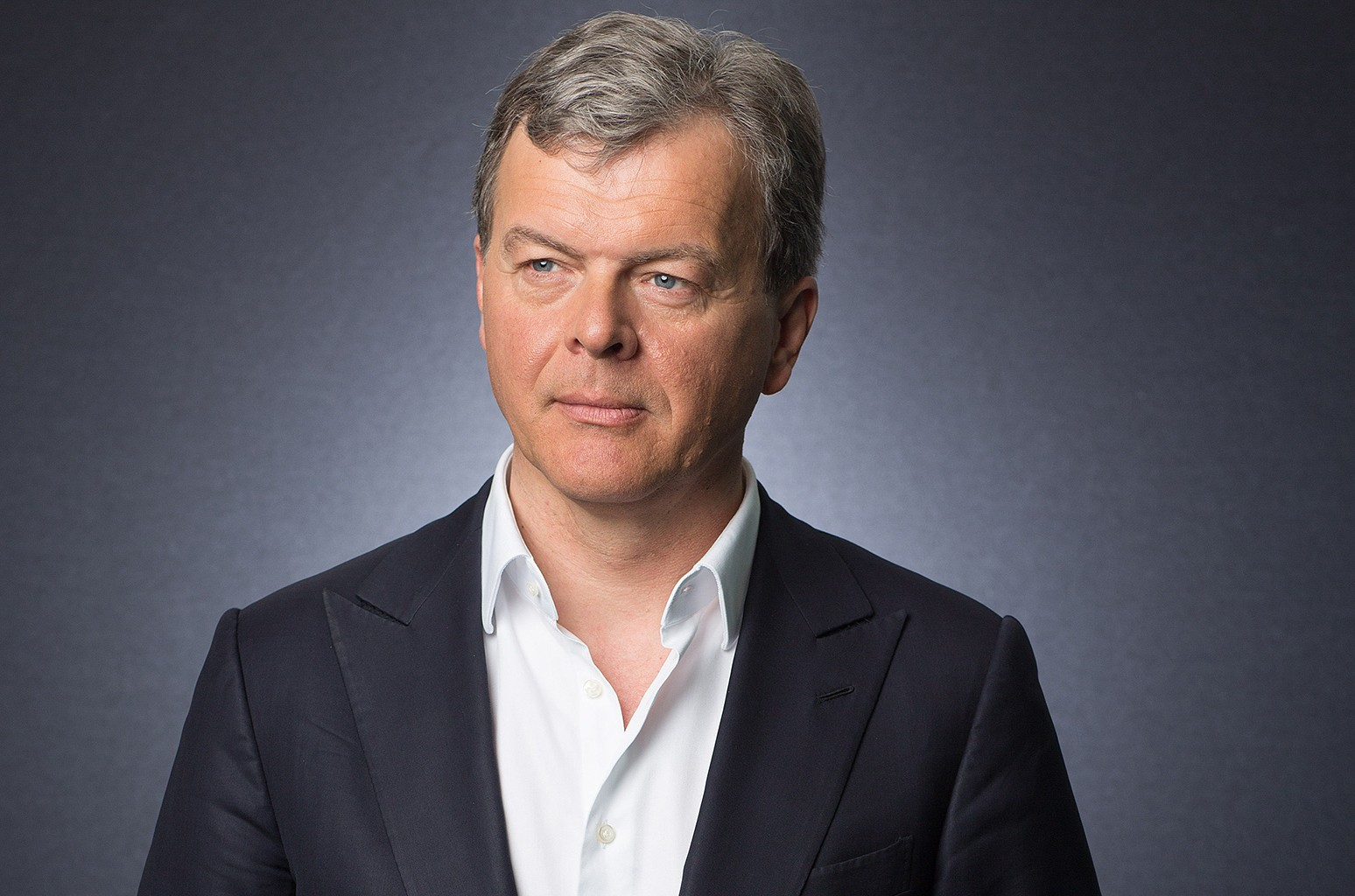 Hans-Holger Albrecht, chief executive officer of Deezer SA, photographed on March 30, 2016.