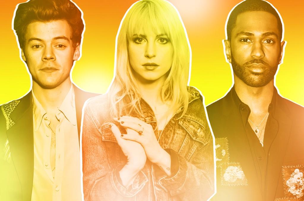 Harry Styles, Hayley Williams of Paramore & Big Sean