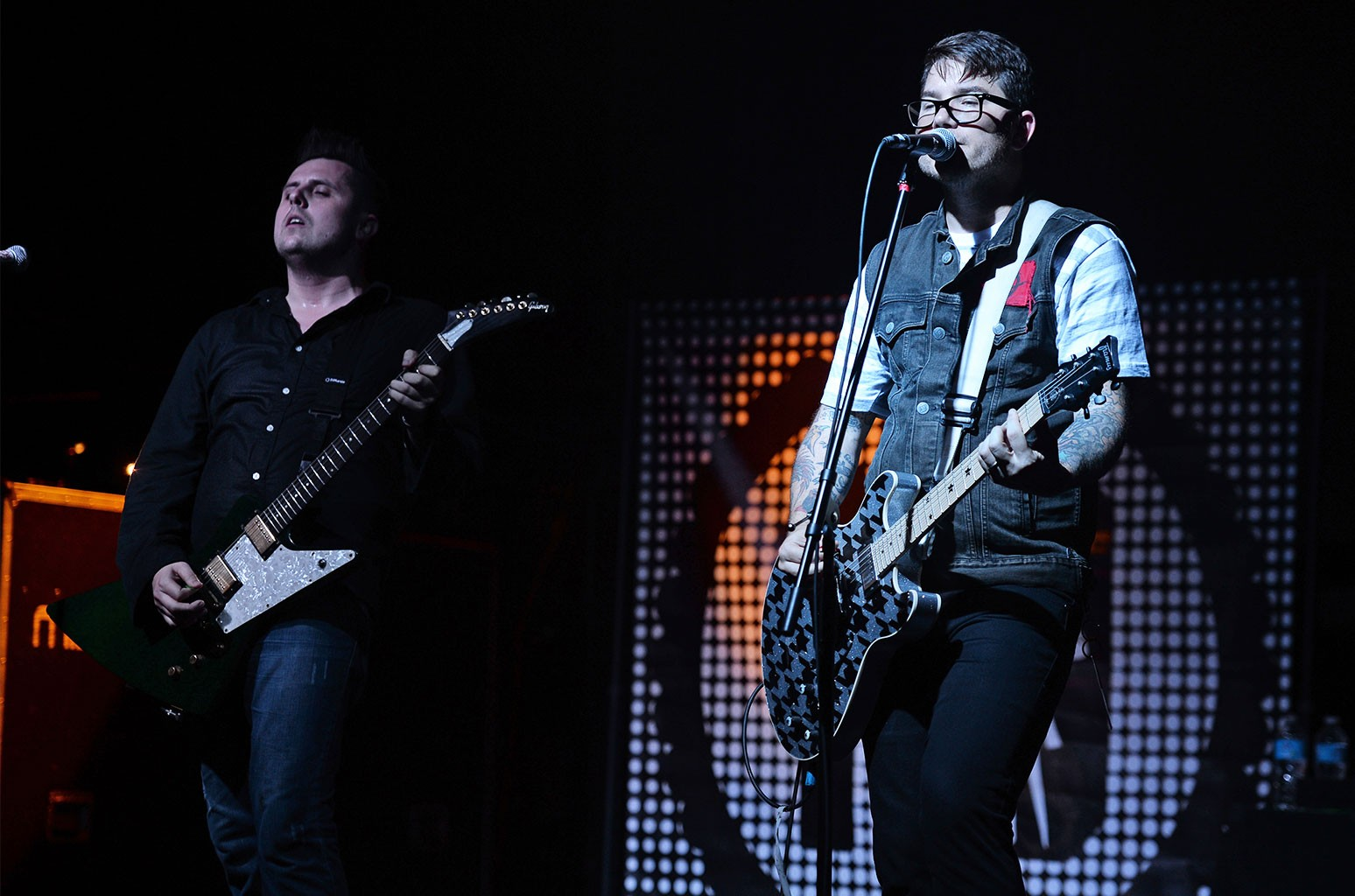 Micah Carli and JT Woodruff of Hawthorne Heights