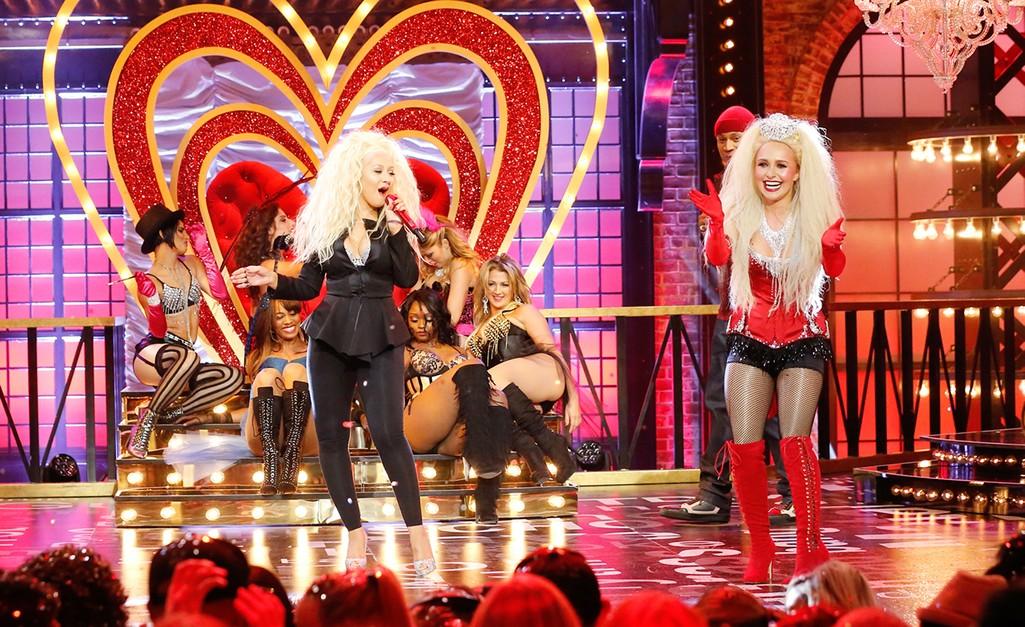 Hayden Panettiere & Christina Aguilera