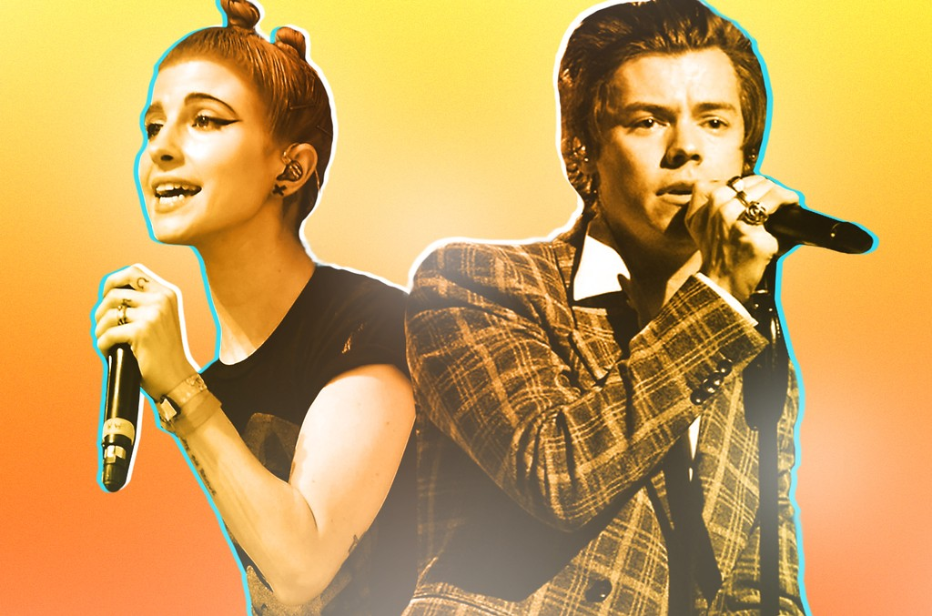 Hayley Williams of Paramore & Harry Styles