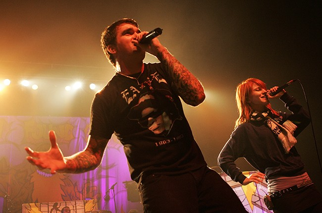 Hayley Williams of Paramore Jordan Pundik of New Found Glory