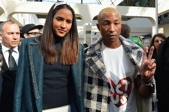 Helen Lasichanh and Pharrell Williams 2016