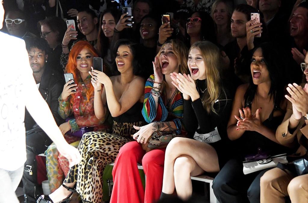 Hennessy Carolina, Cardi B, Paris Jackson and Gigi Hadid and Tiffany Haddish