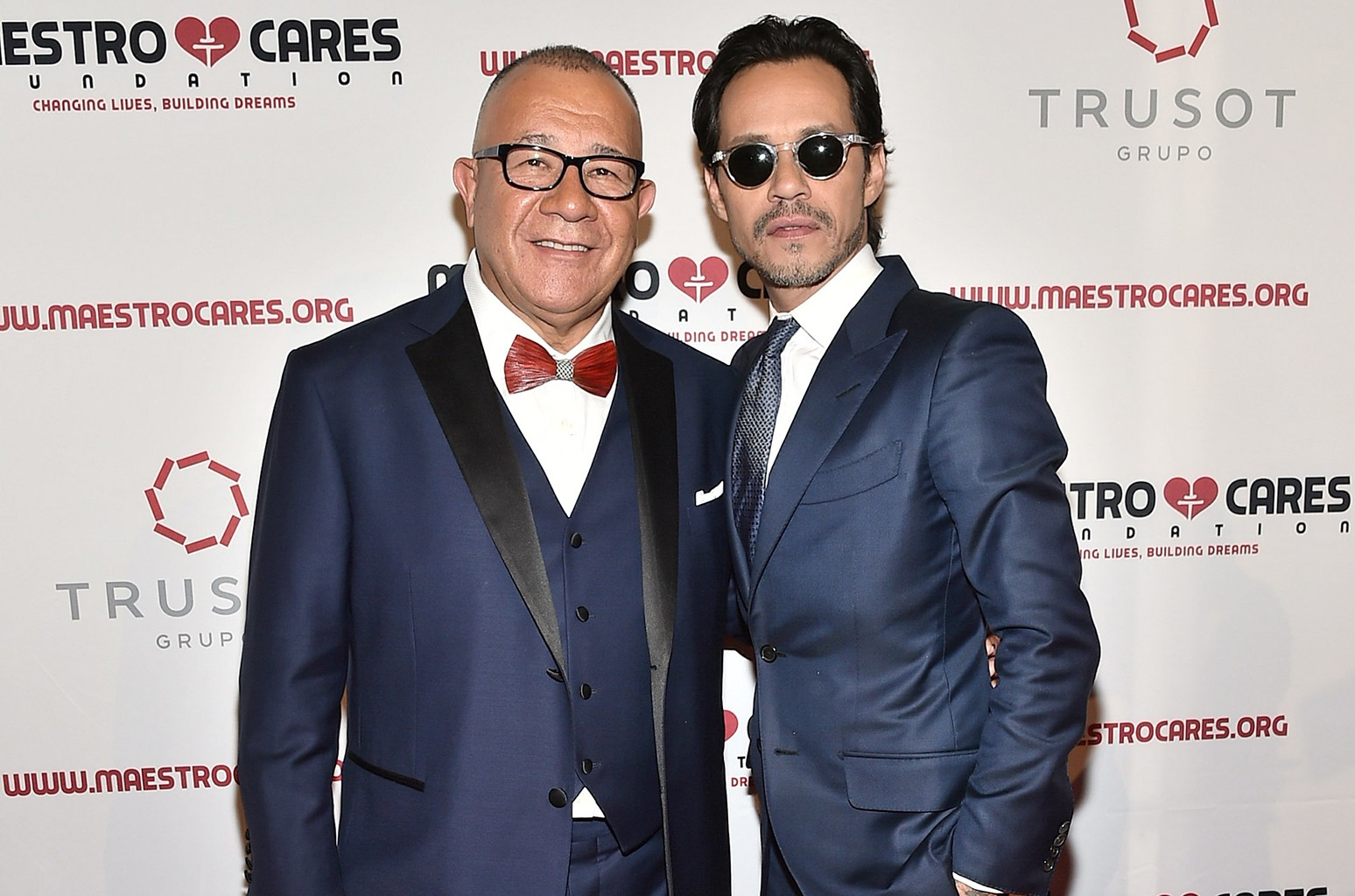 Henry Cardenas and Marc Anthony