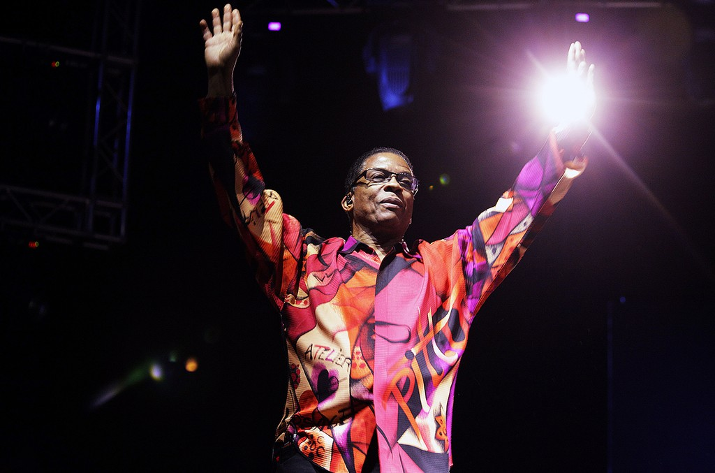 Herbie Hancock performs on stage  at Arena Santa Giuliana during Umbria Jazz Festival on July 7, 2012 in Perugia, Italy.