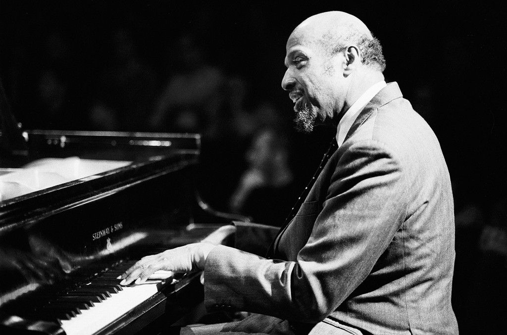 Horace Parlan performs on Jan. 20, 1991 at the BIM huis in Amsterdam.