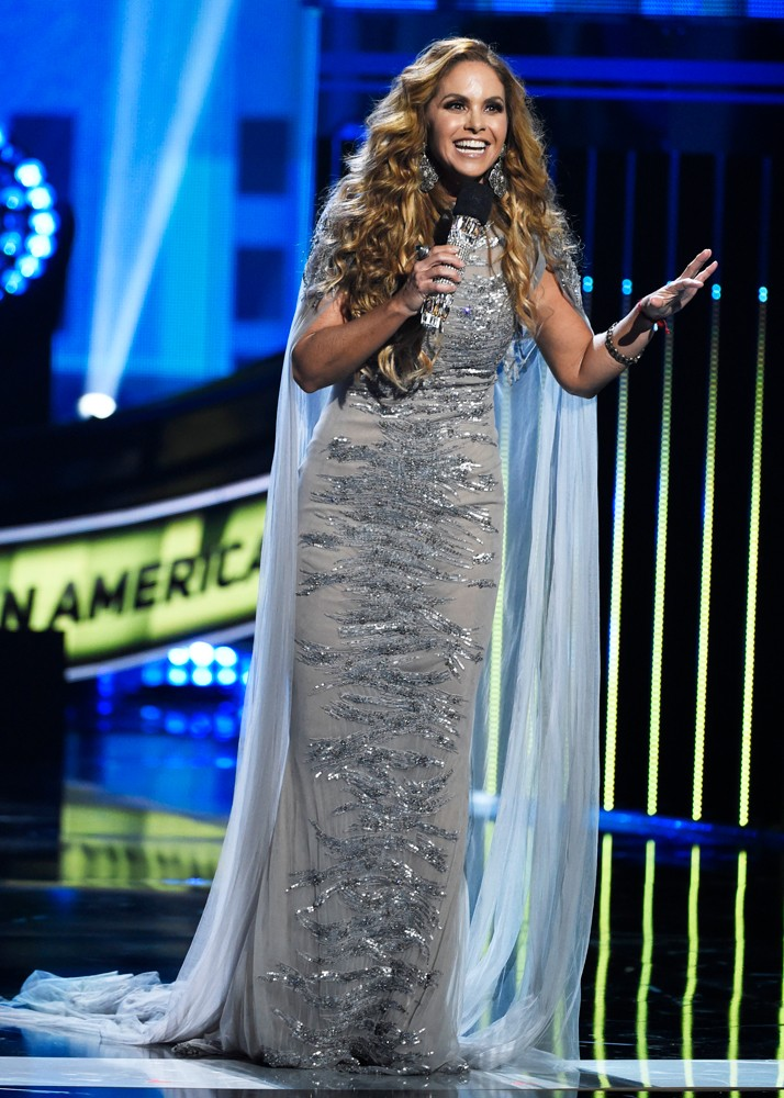 Lucero hosts the Latin American Music Awards at the Dolby Theatre on Thursday, Oct. 8, 2015, in Los Angeles.