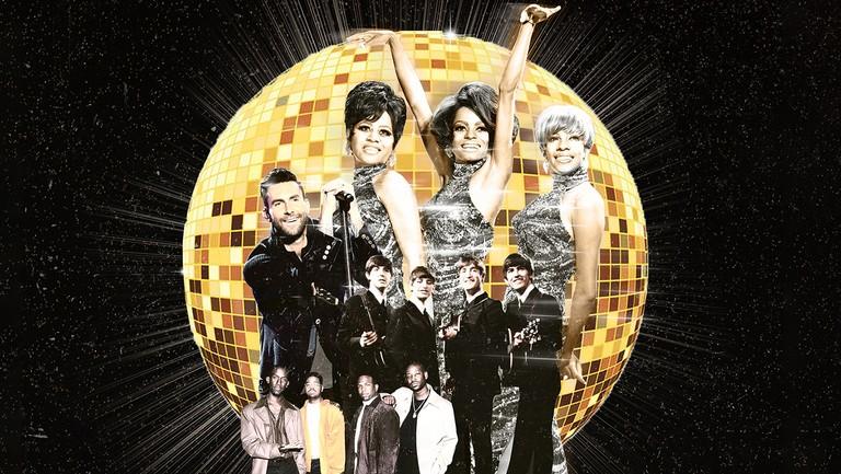 <p>The Supremes, Adam Levine of Maroon 5, The Beatles &amp&#x3B; Boyz II Men</p>