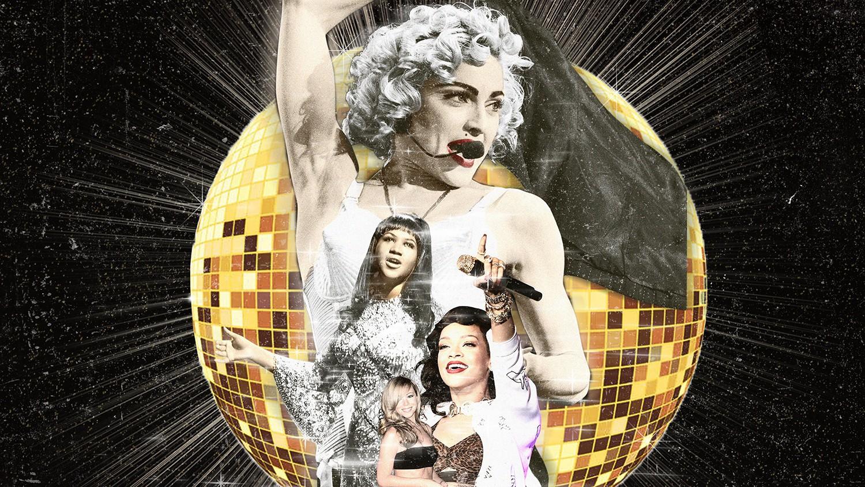Madonna, Aretha Franklin, Rihanna & Mariah Carey