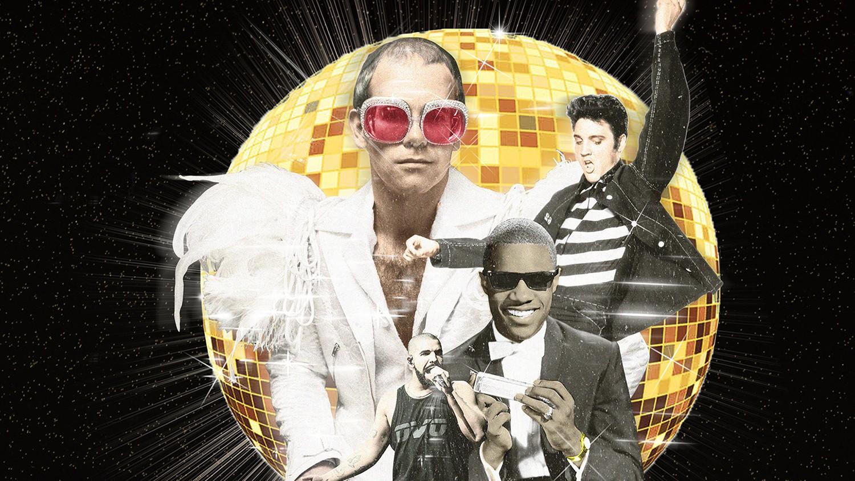 Elton John, Elvis Presley, Stevie Wonder & Drake