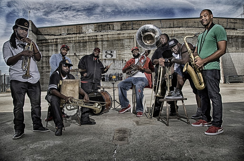 Hot 8 Brass Band, 2017