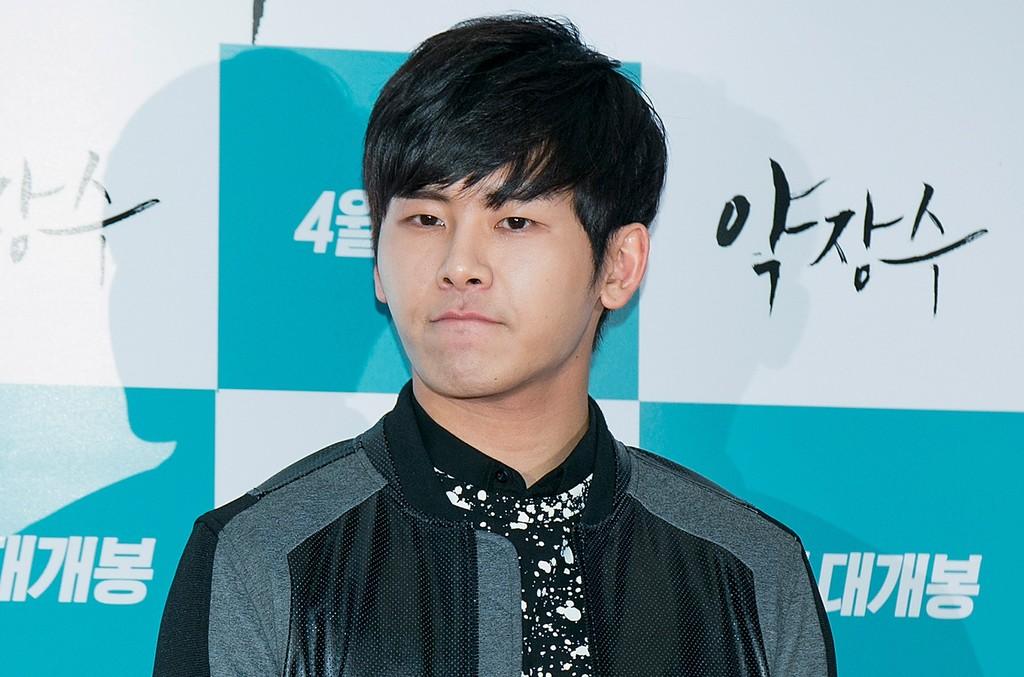 Hoya of South Korean boy band Infinite