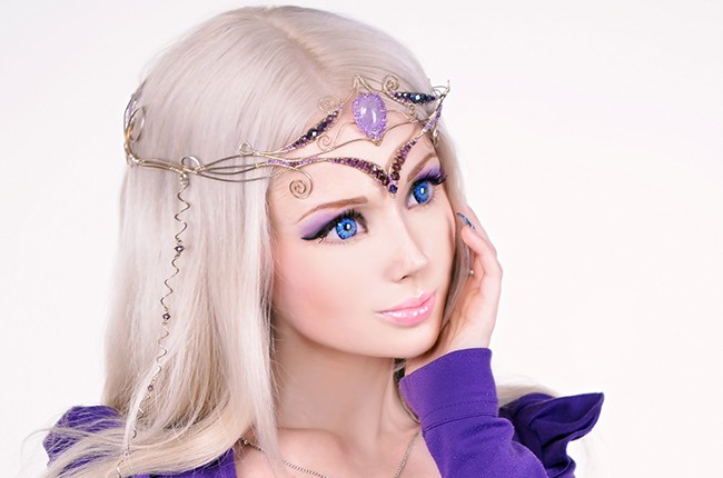 Human-Barbie
