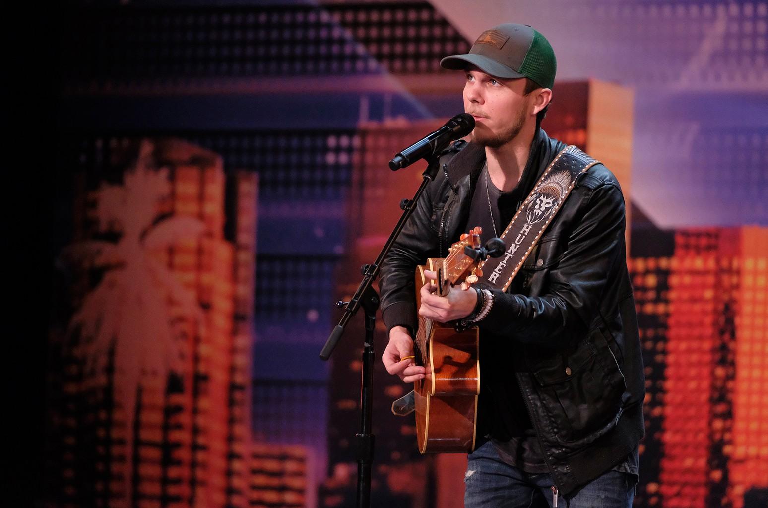 Hunter Price on America's Got Talent.
