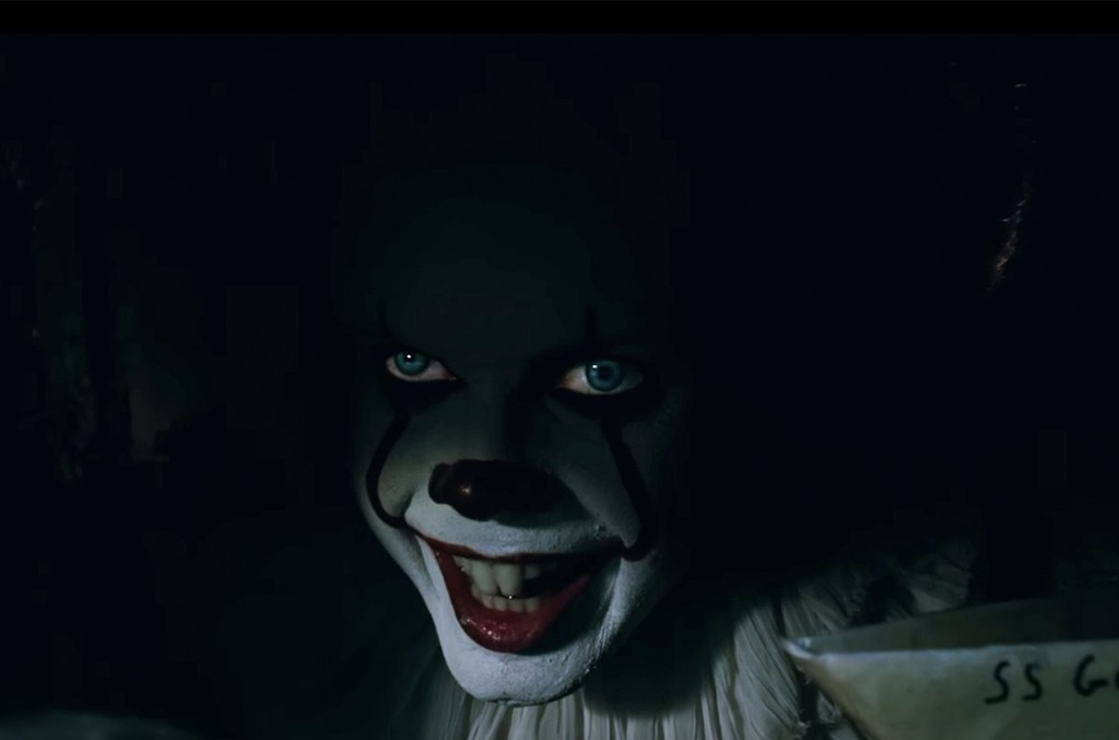 A scene from the trailer for IT