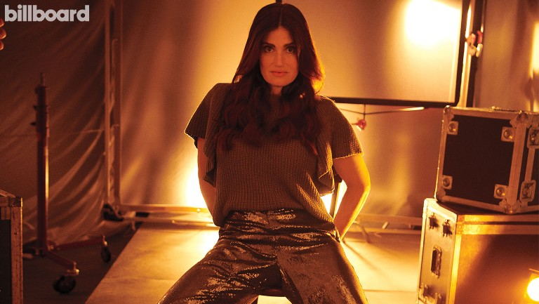 <p>Idina Menzel photographed Sept. 9, 2019 at The St. Regis in Toronto.</p>