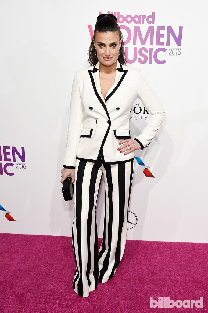 Idina Menzel attends the Billboard Women in Music 2016 event on Dec. 9, 2016 in New York City.