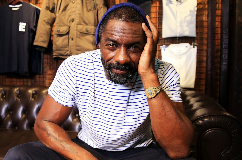 Idris Elba photographed in 2016
