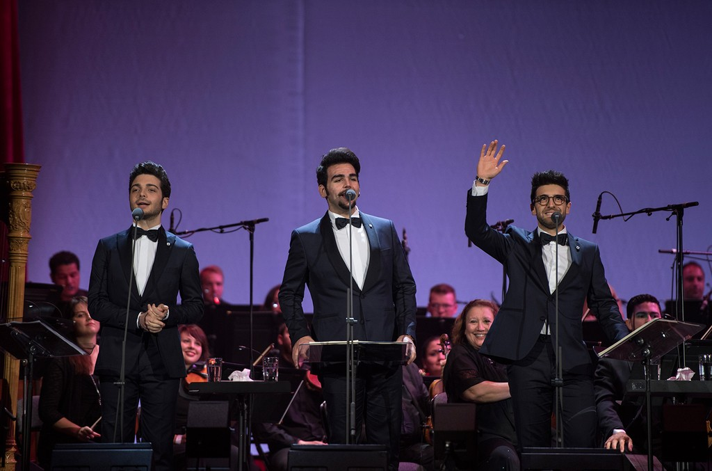 II Volo performs in Miami on April 1, 2017.