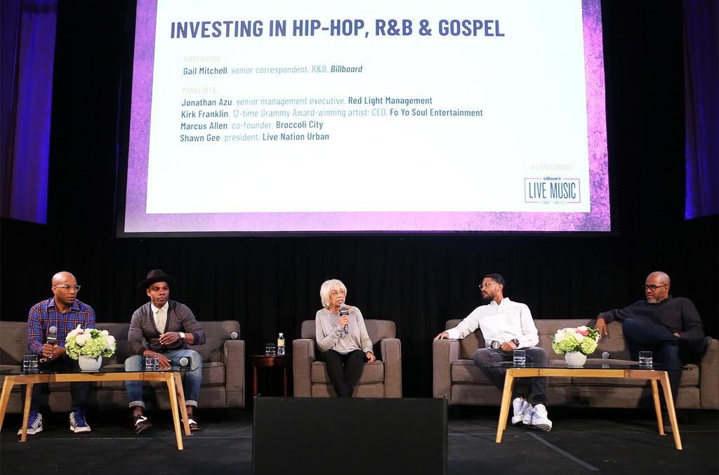 'Investing in Hip-Hop, R&B & Gospel' panel