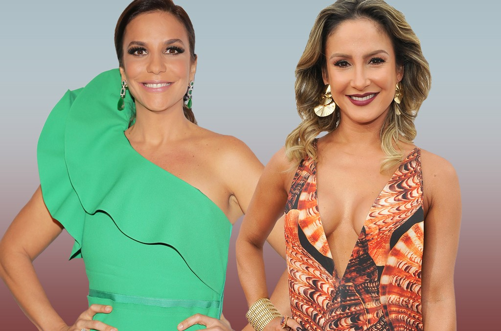 Ivete Sangalo and Claudia Leitte
