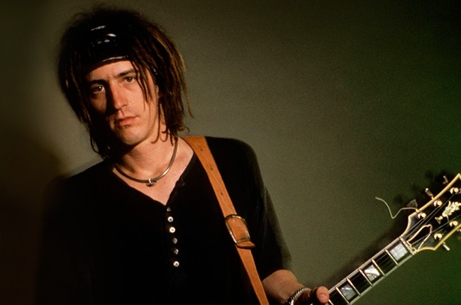 Izzy Stradlin photographed in 1992.